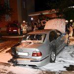 Auto von Justizvollzugsbeamtin abgefackelt