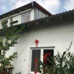 Farbe gegen Wohnhaus von Stephan Wunsch (AfD)