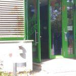 Farbe gegen RWE-Ausbildungszentrum