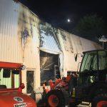 Boels-Lagerhalle abgebrannt