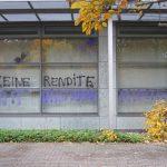 Farbe gegen Hausverwaltung Delta Fonds