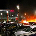Feuer bei Audi-Zentrum