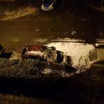 Auto von Pegida-Nazi abgefackelt