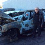 Auto von Gert Pasemann (AfD) abgefackelt