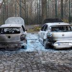 Autos der Deutsche Wohnen abgefackelt