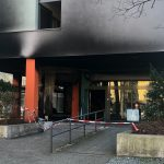 Brandstiftung an Polizeirevier