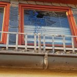Farbflasche in Wohnung von AfD-Kandidaten geflogen