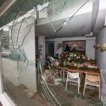 Scheiben bei Bar und Sternerestaurant zerstört