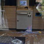 Glasbruch und Farbe für Polizei, Deutsche Bank, Sparkasse und Volksbank