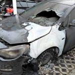 Auto von Claus Schaffer angezündet