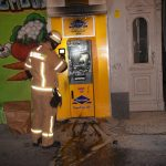 Zwei Bankautomaten angezündet