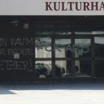 Verklebte Schlösser bei AfD-Veranstaltungsort