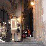 Feuer an Amtsgericht gelegt