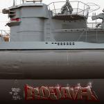 Graffiti an Kriegsdenkmal