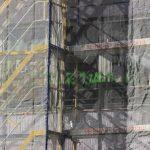 Farbe und Bauschaum gegen Turkish Airlines-Büro