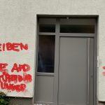 Haus von Thomas Kemmerich (FDP) besprüht