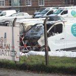 Neun Autos auf Vonovia-Parkplatz angezündet
