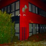 Farbe gegen Rheinmetall-Niederlassung