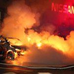 Brandstiftung an Telekon-Fuhrpark und bei Nissan-Autohaus