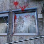 Farbe gegen AfD-Büro
