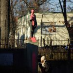 Farbe gegen Kyffhäuser-Denkmal