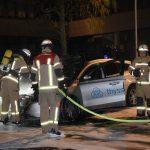 Drei Thyssenkrupp-Firmenwagen angezündet