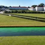 Nymphenburger Schlosskanal eingefärbt