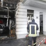 Brandstiftung an Thor-Steinar-Laden