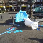 AfD-Stand angegriffen