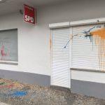 Farbe gegen SPD-Büros