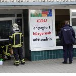 Buttersäure in CDU-Büro freigesetzt