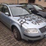 Auto von Sven Dreyer (AfD) beschädigt
