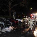 Auto von Nicolaus Fest (AfD) abgebrannt