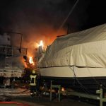 Drei Yachten abgebrannt