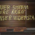 Parole an CDU-Büro gesprüht
