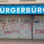 AfD-Büro erneut mit Farbe beschmiert