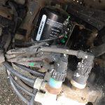 NPD-Lkw beschädigt