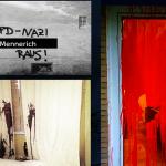Steine und Farbflaschen gegen Wohnung eines AfD-Politikers
