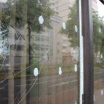 Scheiben an GdP-Büro eingeschlagen