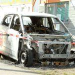 Auto einer Immobilienfirma abgefackelt