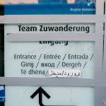 Farbe gegen CDU-Zentrale, Scheiben der Ausländerbehörde zerschlagen