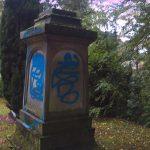 Nazidenkmäler eingefärbt