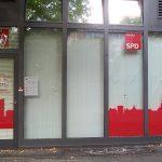 Scheiben bei SPD-Büro kaputt