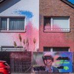Farbe gegen Wohnhaus von Wolfgang Truckenbrodt (AfD)