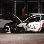 Auto von WIS-Sicherheitsdienst abgefackelt