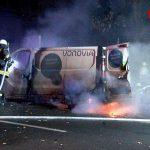 Vonovia-Kleintransporter ausgebrannt