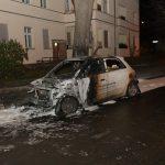 Auto einer Immobilienfirma abgebrannt
