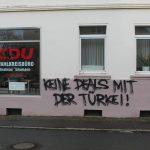 CDU-Wahlkreisbüro eingeworfen