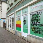 CDU-Büro und DITIB-Moschee angesprüht