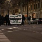 Scherben-Sponti in Solidarität mit Hungerstreik